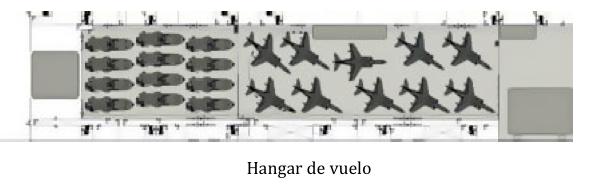 hangar buque