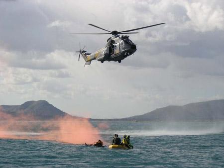 Helicóptero del SAR, Servicio Aéreo de Rescate