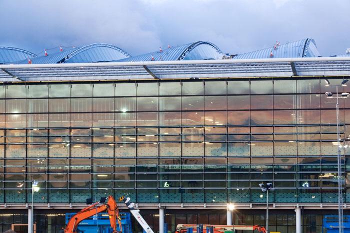 Heathrow, the new T2A development, Terminal T2A exterior, 21 December 2011