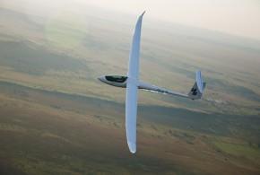 Modelo de última generación de planeador