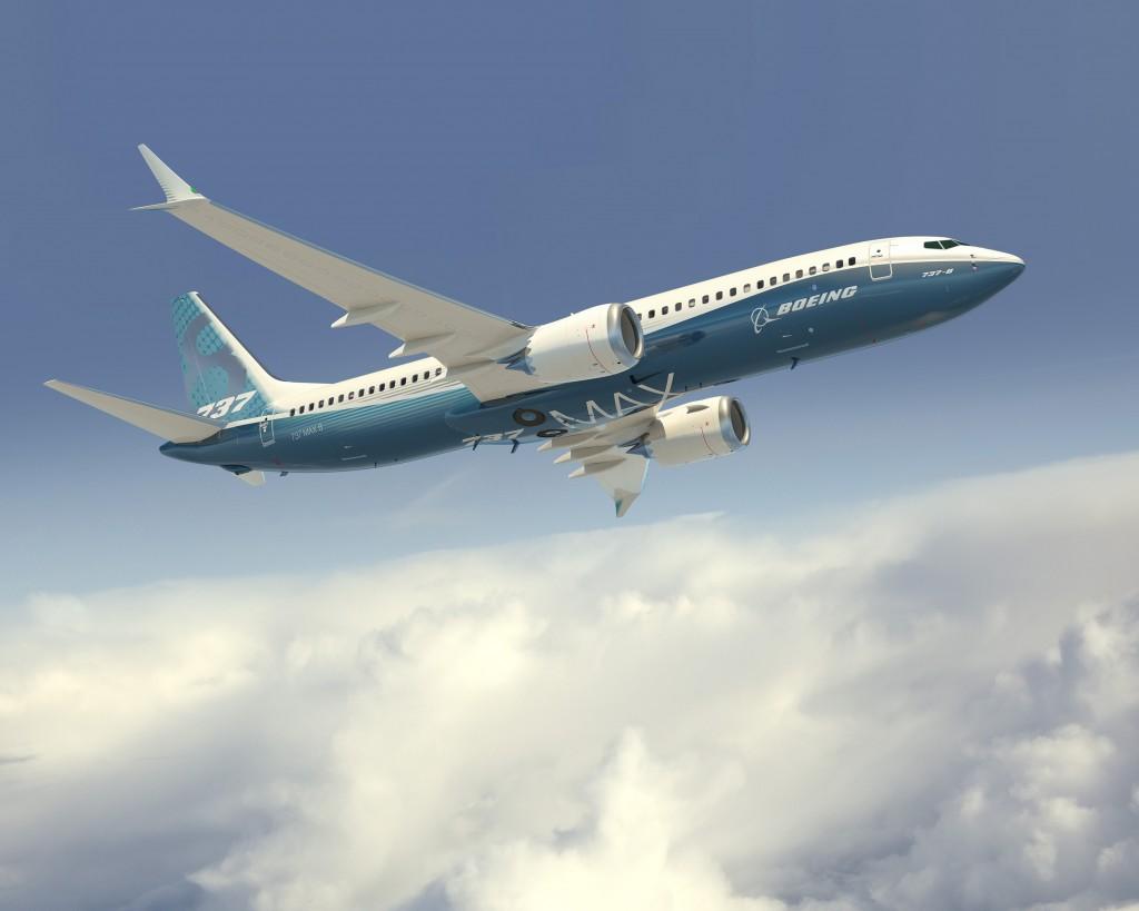 Boeing 737 ( avión de reacción de pasajeros de fuselaje estrecho de corto a medio alcance USA ) TBC-MAX8-Q5_FL-adVW-8_PR-0713-1024x819