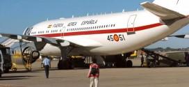 Uno de los Airbus A-310 de la Fuerza Aérea Española. Juanjo Martín. EFE