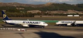 Aviones de Ryanair en el aeropuerto de Adolfo Suárez Madrid-Barajas