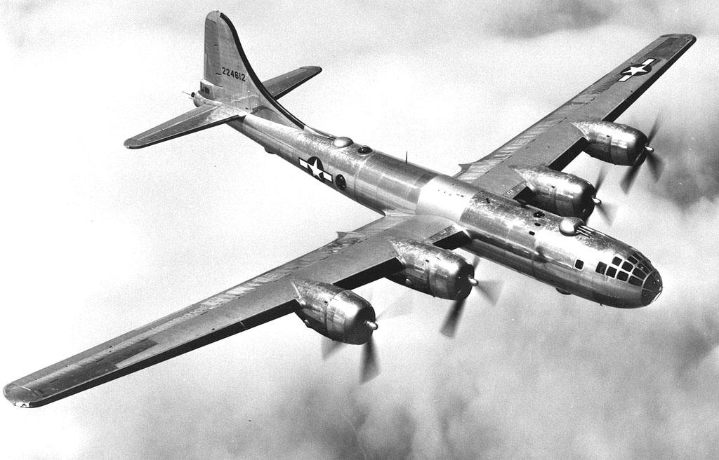 B-29_in_flight