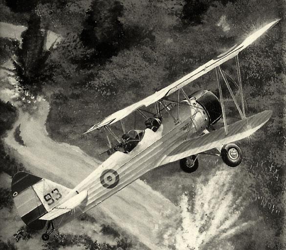 Avión Vickers boliviano