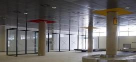Imagen de la terminal vacía del aeropuerto de Castellón