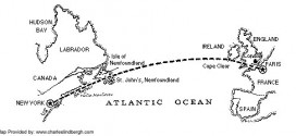 Plan de vuelo de Lindberg