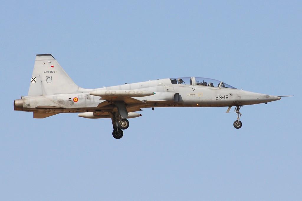 Northrop SF-5B(M) del Ejército del Aire Español (Wikipedia)