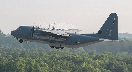 MP13-1028 HC-130J 5725 Delivery with General Polumbo 07-19-2013