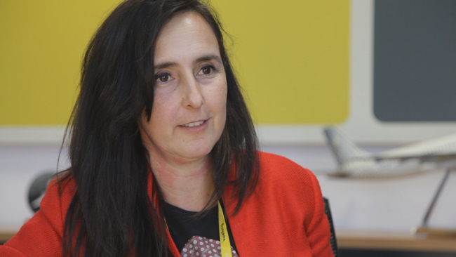Ana Arroquia directora de Branding & Advertising de Vueling