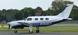 Avioneta similar a la accidentada