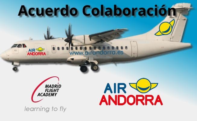 MADRID FLIGHT ACADEMY  y AIR ANDORRA