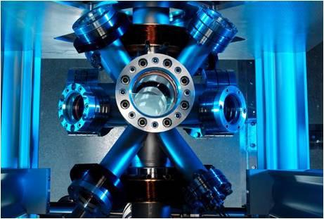 Reloj atómico de Cesio 133