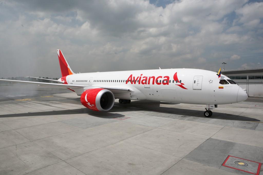 Avianca recibe su primer b 787 dreamliner for Interior 787 avianca