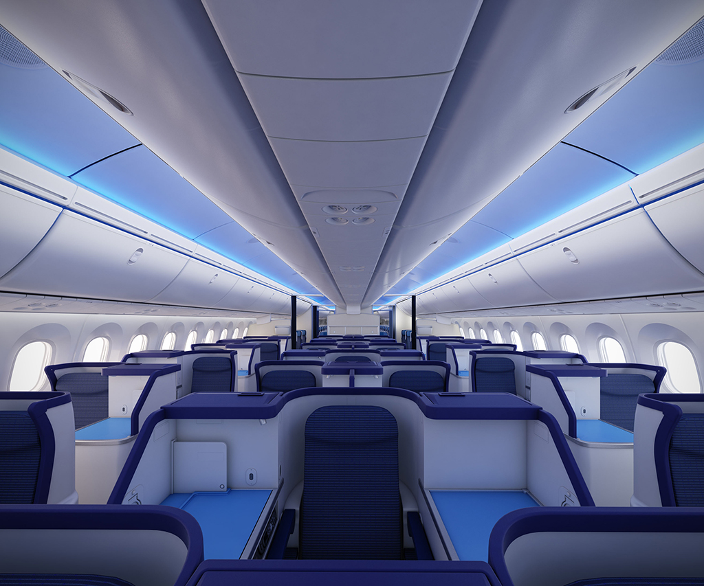 Boeing 787 Dreamliner, the response to the airlines around the world
