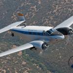 Twin Beech C-45. Foto Javier Guerrero