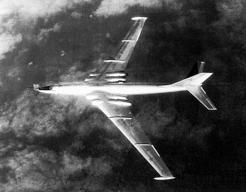 Myasishchev 3M Bison en 1968. (USNavy).