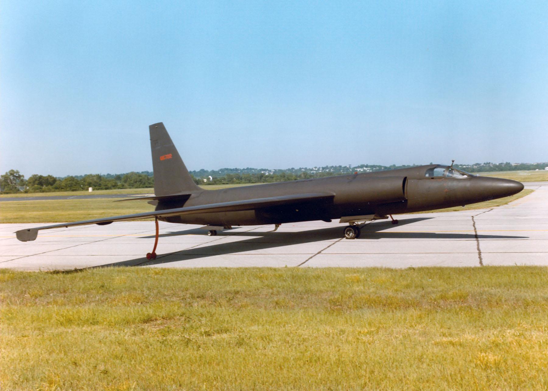 U-2A original expuesto en el Museo de la Fuerza Aérea. (USAF).