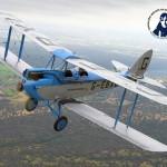 De Havilland DH 60 Moth. Foto Ismael Abeytúa