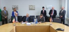 Firma contrato EUROJET y NETMA