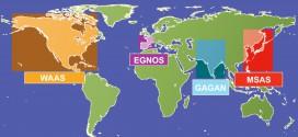 Áreas SBAS en servicio en el Mundo (Fuente: ESA)