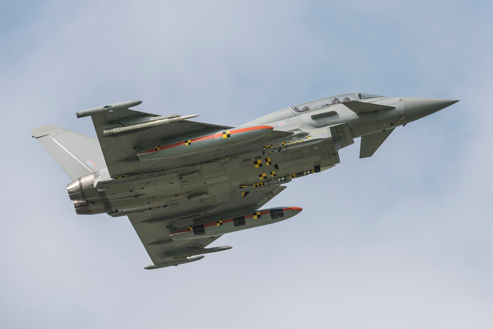 Eurofighter con Meteor. (Fuente: Eurofighter)