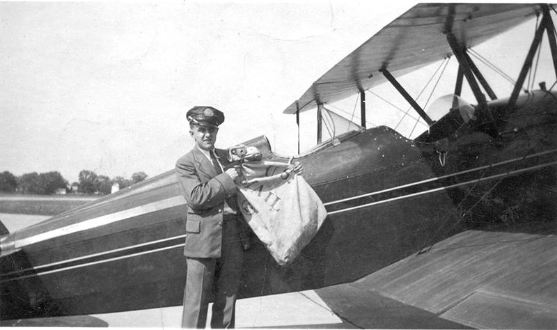 Servicio Aéreo Postal en la década de los 30 en USA
