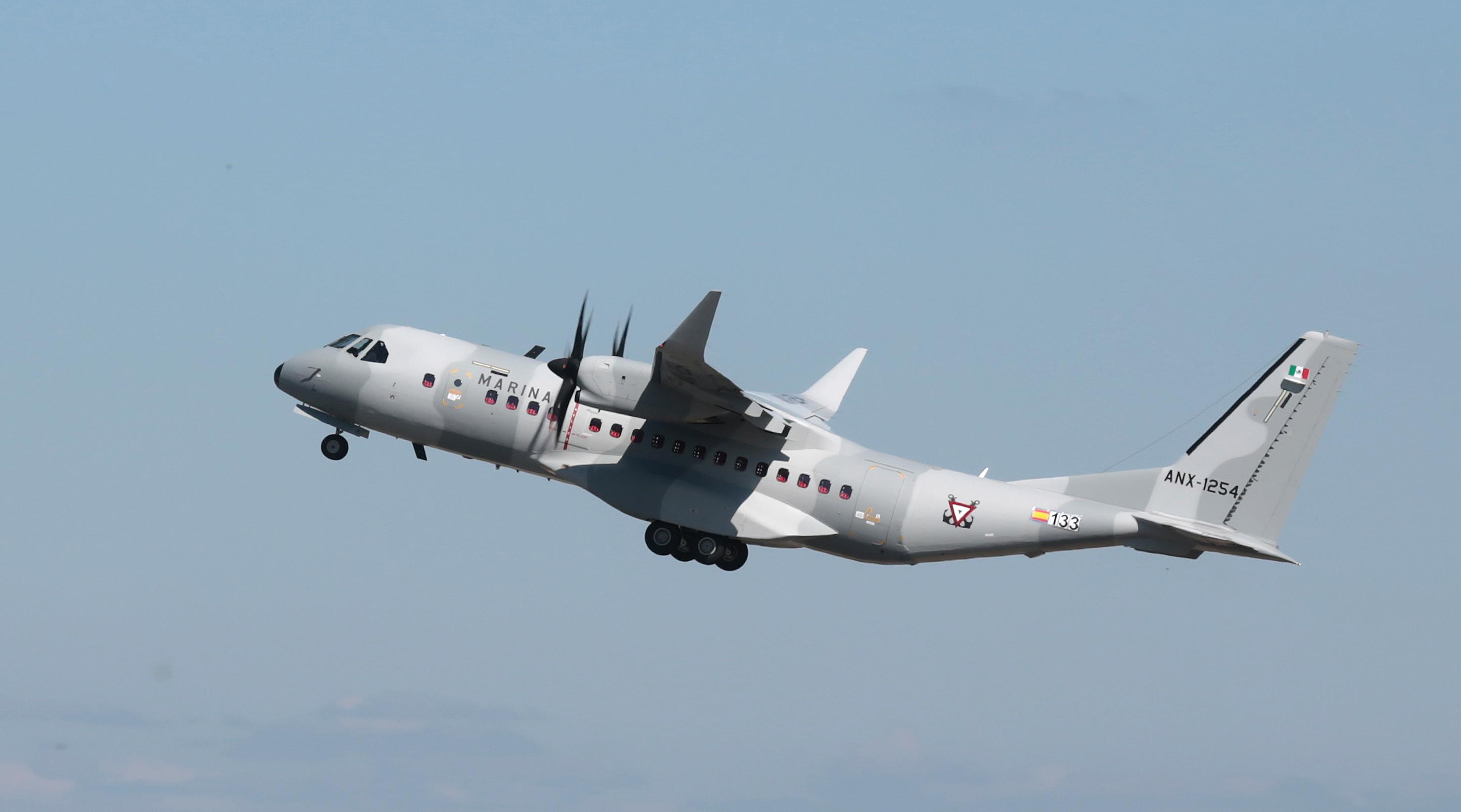 C-295M con Winglets SEMAR C295WMex