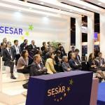 Sesión en el stand de SESAR