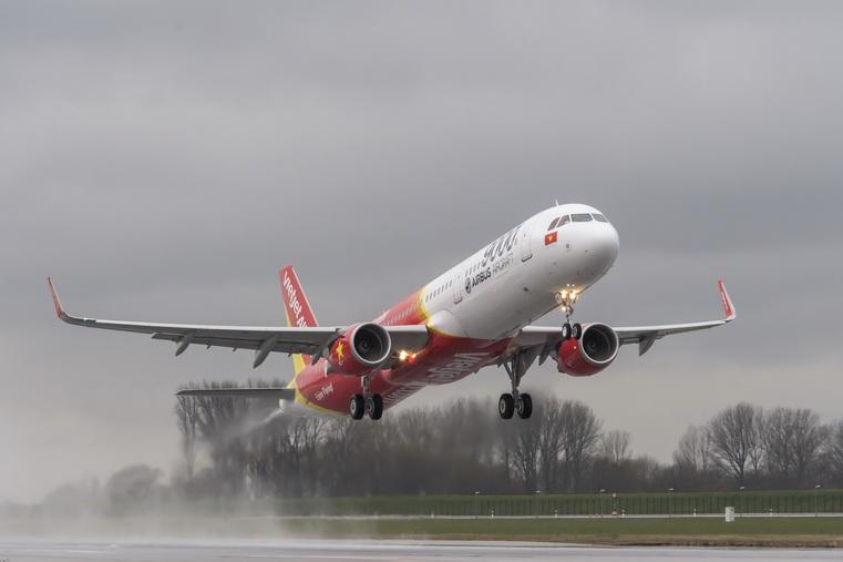 VietJetAir first A321 Ferry Flight_