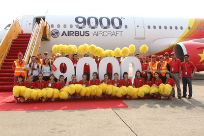 VietJetAir first A321 arrives in Ho Chi Minh City_