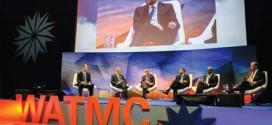 """""""Decisiones inteligentes en un mundo interconectado"""". Fuente: World ATM Congress"""