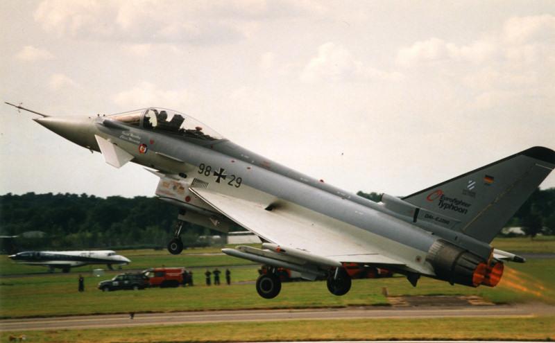 Eurofighter DA1. (Andrew Billing).