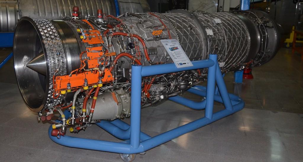 EJ200 del Museo de Aeronáutica y Astronáutica de Madrid. (Autor).