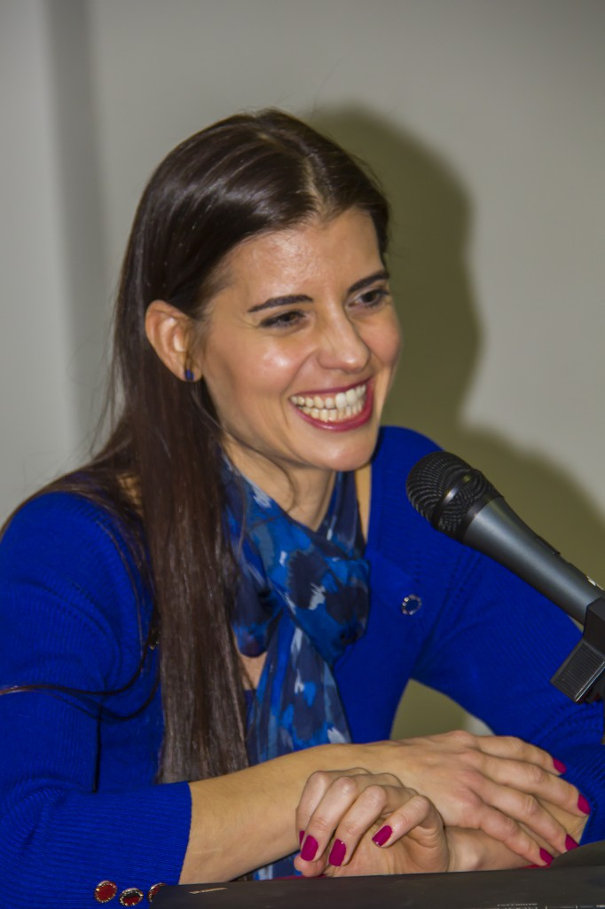 Ainhoa Sánchez. La Primera Wingwalker Española. (Foto Jesús Benitez)