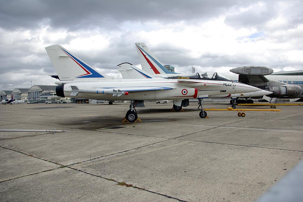 El avión demostrador original del Rafale en el año 2006. (Autor: Duch.seb).