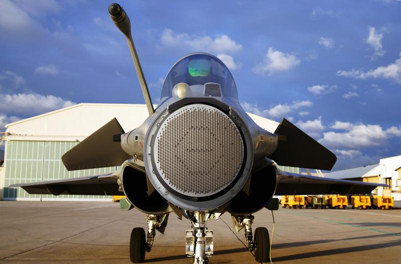 El Radar RBE2 equipado en el Rafale. (Dassault / Thales).