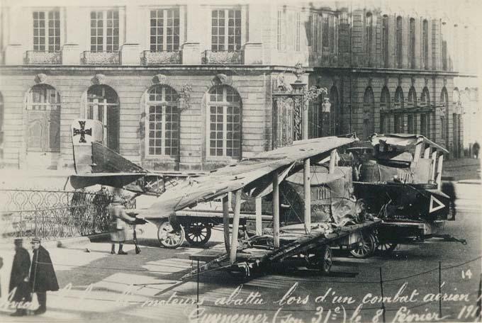 El bombardero bimotor Gotha G.III derribado por Guynemer, que consiguió casi 200 impactos sobre el germano.  www.earlyaeroplanes.com