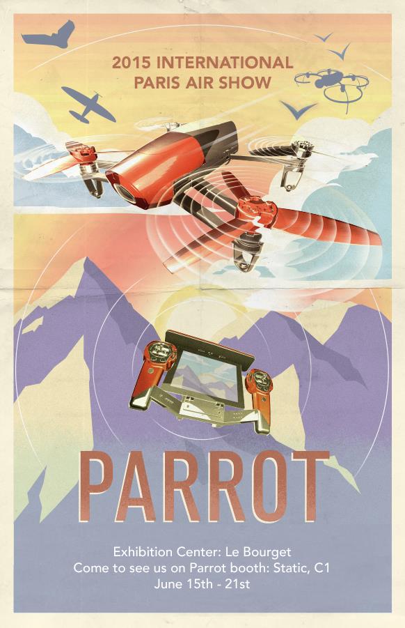 Parrot PARIS AIR SHOW 2015