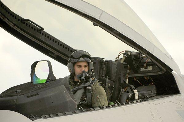 Piloto de F-22 Raptor
