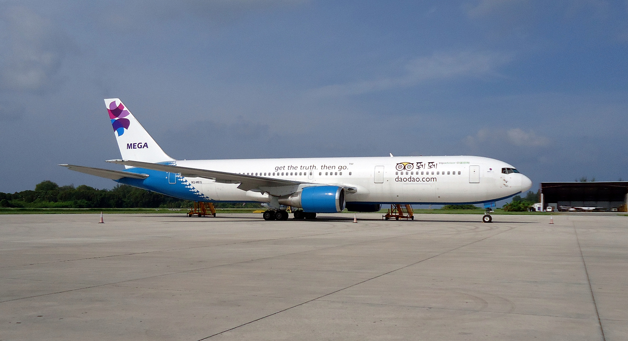Boeing 767-300 de MEGA.