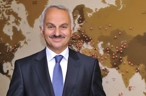 Temel Kotil,presidente y CEO de Turkish Airlines