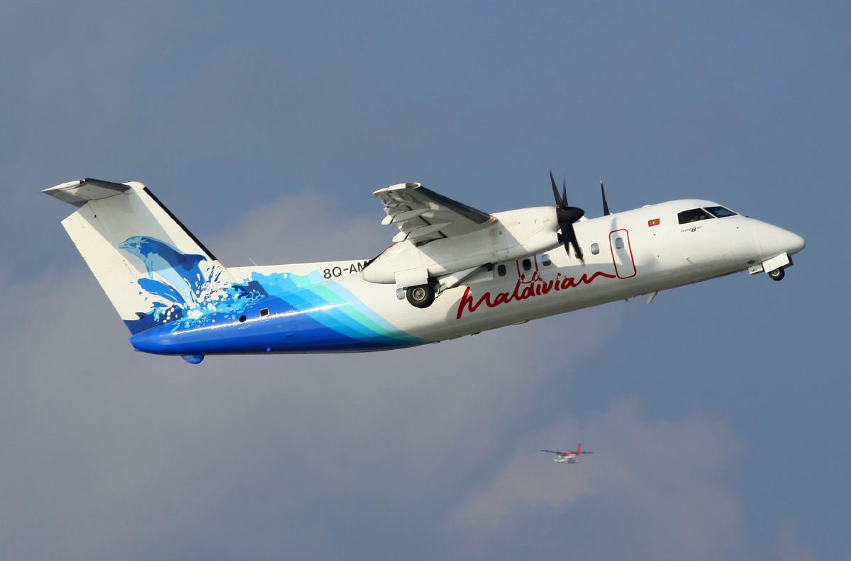 Dash 8-200 de Maldivian