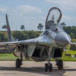 MIG-29 Fulcrum, Florennes AFB, Bélgica. Foto: Eddie Jauck