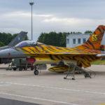 F-16 Fighting Falcon en la Base Aérea de Florennes, Bélgica. Autor: Eddie Jauck