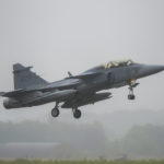 Saab 39 gripen en la Base Aérea de Florennes, Bélgica. Autor: Eddie Jauck