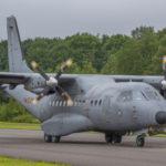 EADS CASA C-295 del Ejército del Aire Español, Florennes AFB, Bélgica. Foto: Eddie Jauck
