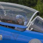 Dornier Alpha Jets de la Patrulla Acrobática Francesa en la base aérea de Florennes, Bélgica. Foto: Eddie Jauck