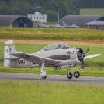 Warbird en Florennes AFB, Bélgica. Foto: Eddie Jauck
