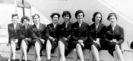 Foto: Azafatas de la época. Iberia.